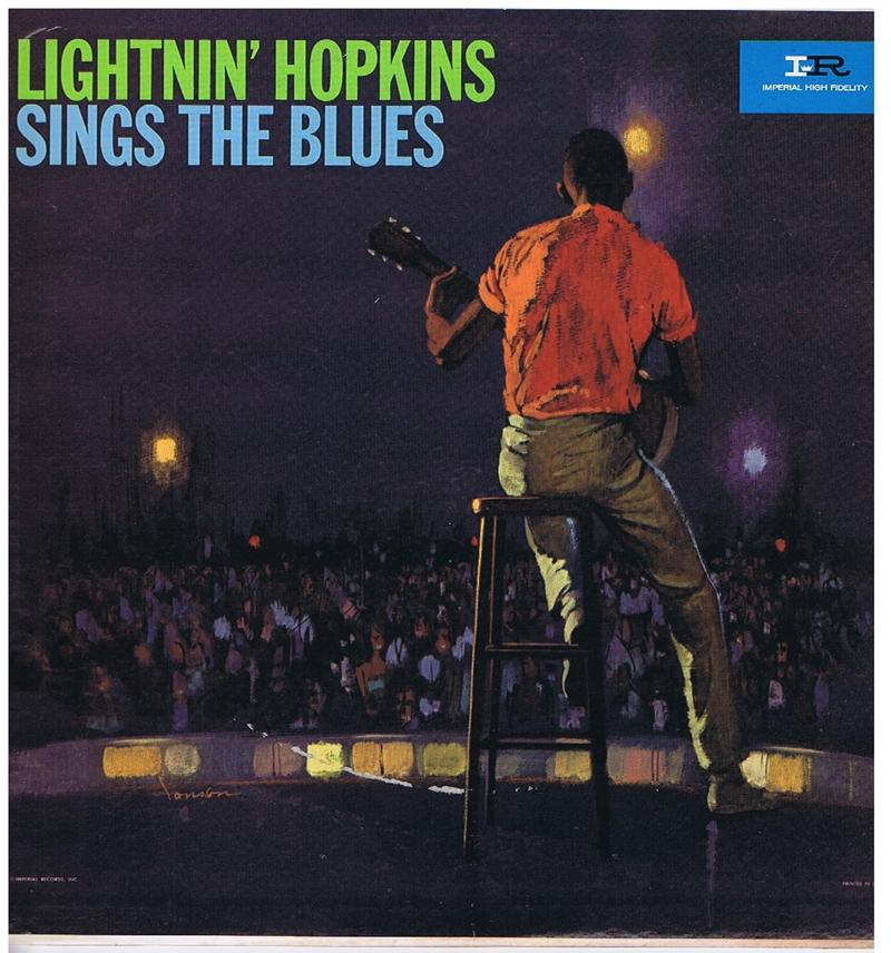 Lightnin' Hopkins - Sings The Blues / 1962 original press - Imperial 9186