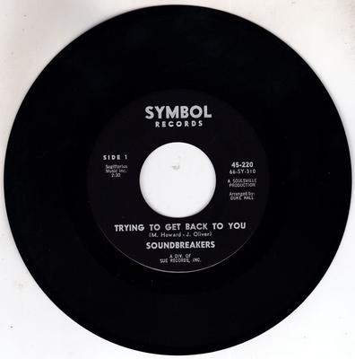 Soundbreakers - Try To Get Back To You / The Jerk Is Catching - Symbol