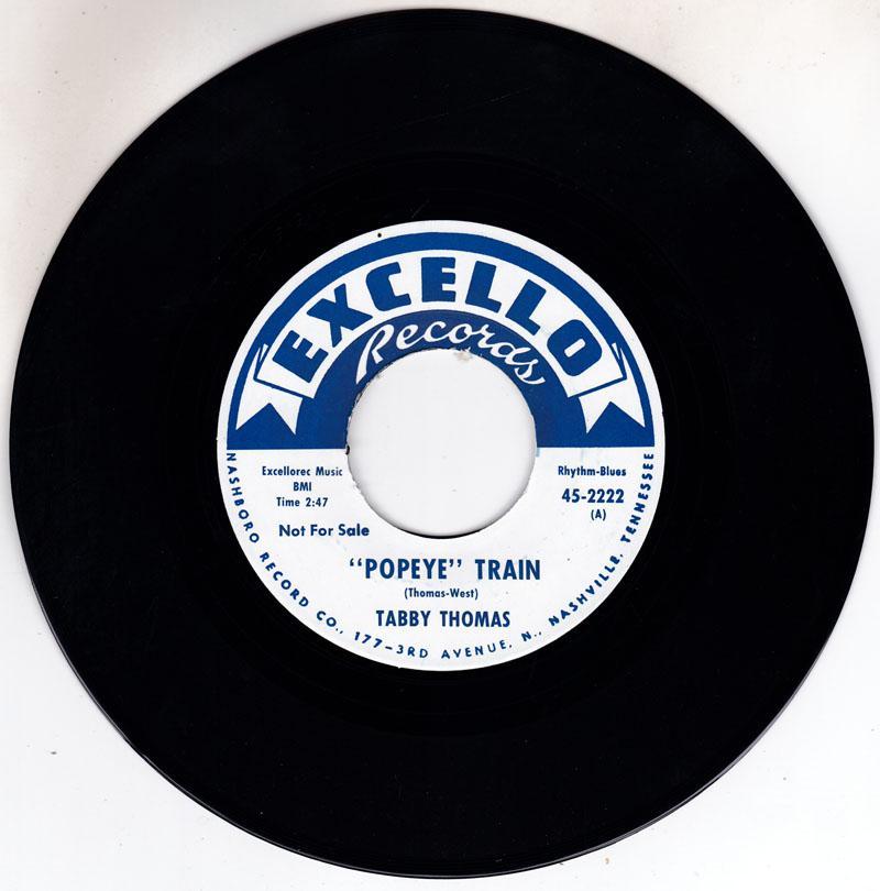 Popeye Train/ He's Got The Whole World In Hi