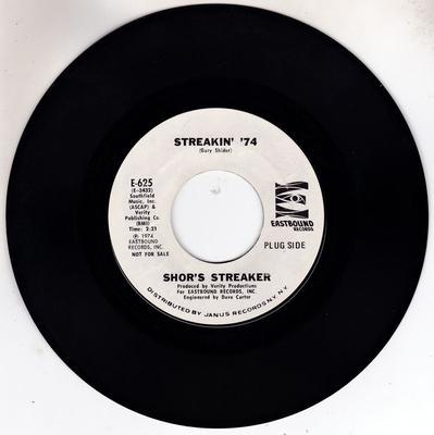 Image for Streakin' 74/ Virgil (instrumental)