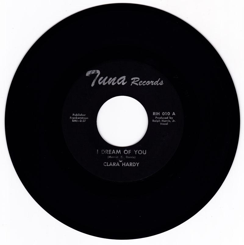 Clara Hardy / Motor City Sound - I Dream Of You / same: instrumental - Tuna RIH 010