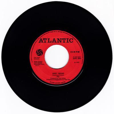 Yes - Sweet Dreams / Dear Father - Atlantic 2091 004