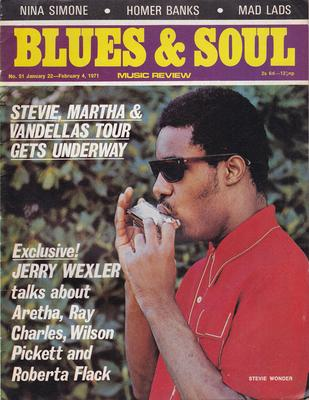 Image for Blues & Soul 51/ January 22 1971