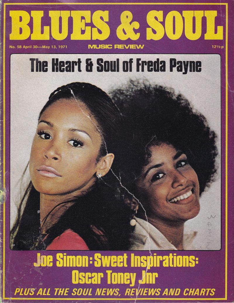 Blues & Soul 58/ April 30 1971