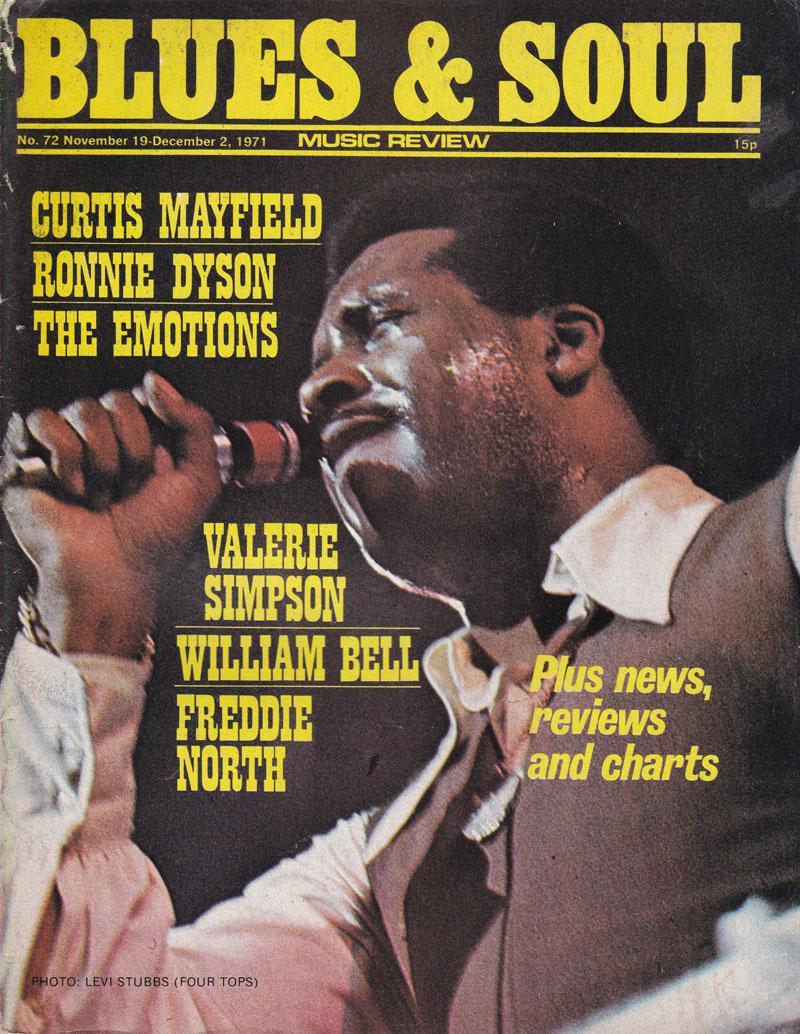 Blues & Soul 72/ November 19 1971