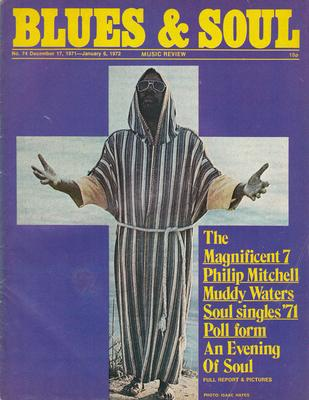 Image for Blues & Soul 74/ December 17 1972