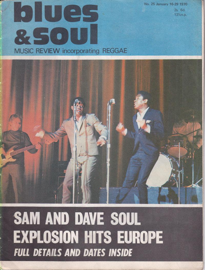 Blues & Soul 25/ January 16 1970
