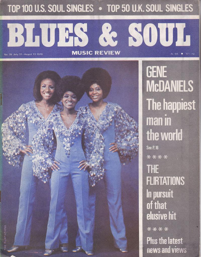 Blues & Soul 39/ July 31 1970
