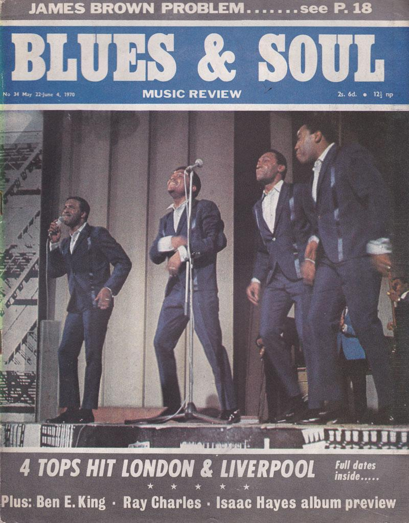 Blues & Soul 34/ May 22 1970