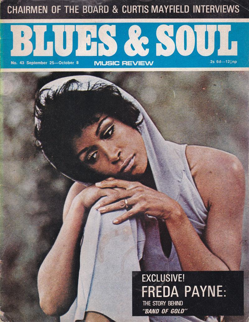 Blues & Soul 43/ September 25 1970