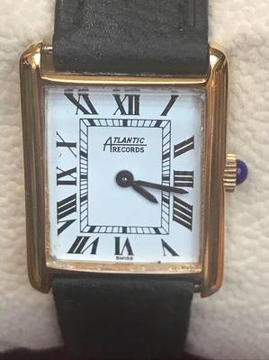 Atlantic Executive Watch - Executive Rectangular Gold Plated Ladies Watch /  Gold Plated Ladies Rectangular - Atlantic Rectangular ladies