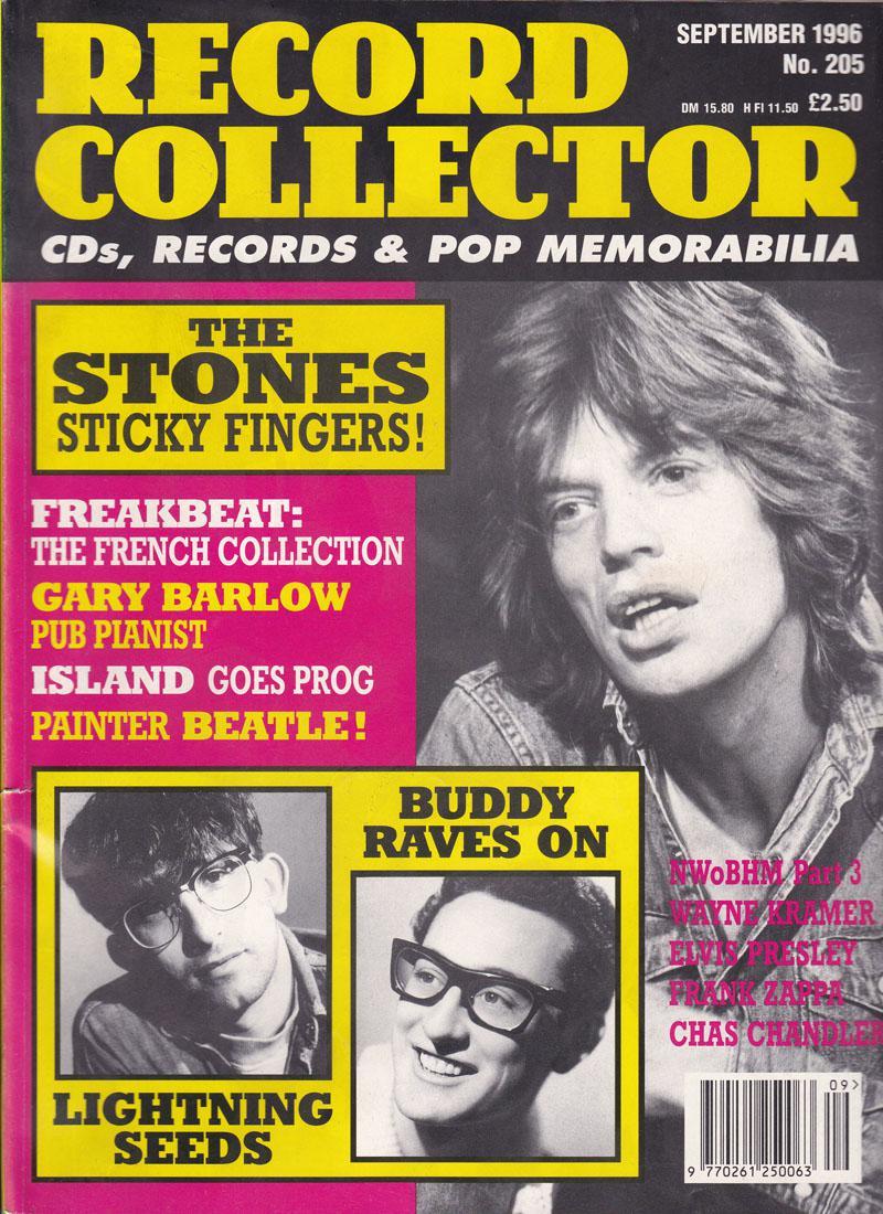 Record Collector 205/ September 1996