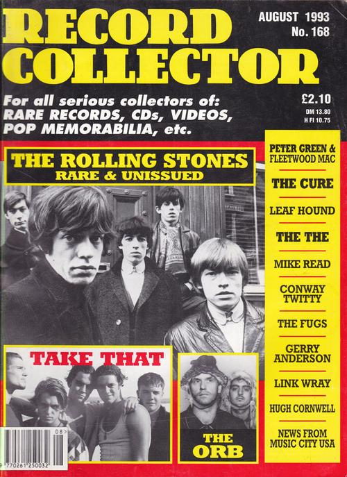 Record Collector 168/ August 1993