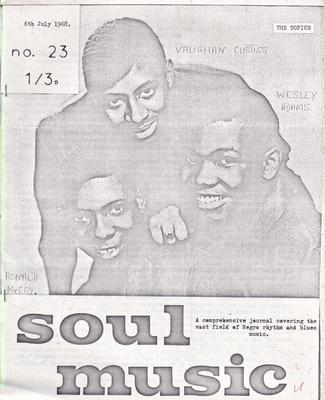 Image for Soul Music 24/ July 6 1968