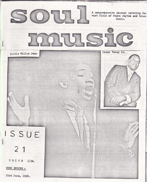 Soul Music 21/ June 22 1968