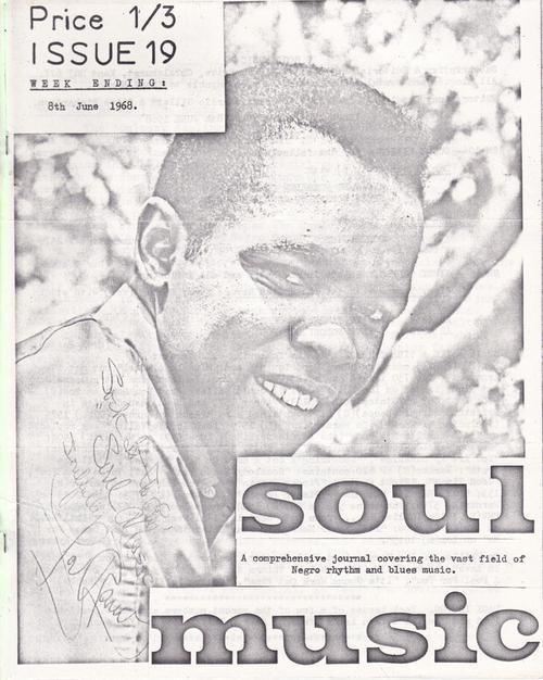 Soul Music 19/ June 8 1968