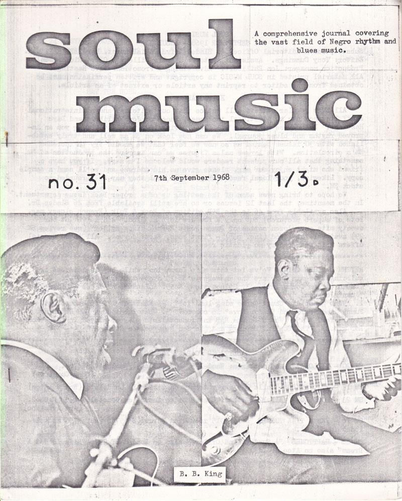 Soul Music 31/ September 7 1968