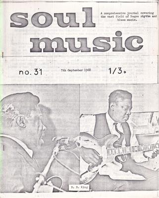 Image for Soul Music 31/ September 7 1968