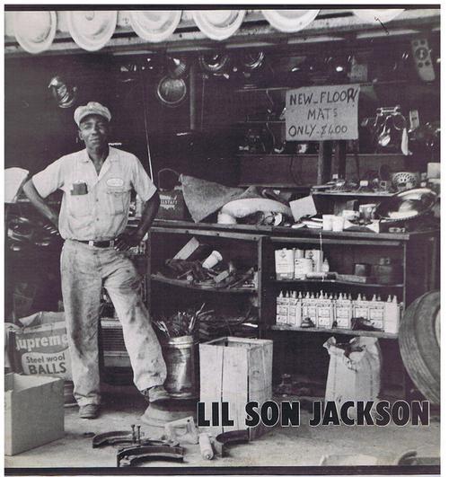 Lil Son Jackson - Lil Son Jackson / 1960 press - Arhoolie F 1004