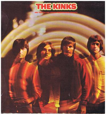 The Kinks - The Village Green Preservation Society / 1968 UK stereo press gatefold - Pye NSPL 18233