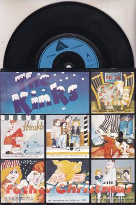 Kinks Father Christmas.Father Christmas Prince Of The Punks
