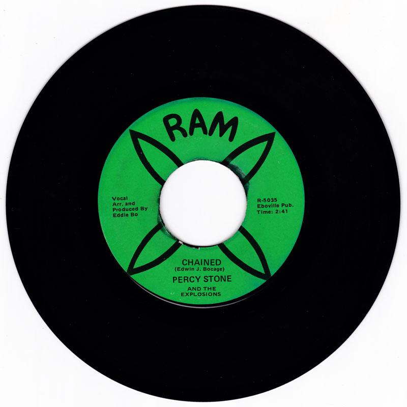 Percy Stone and the Explosions -  Chained / Speading Love - RAM 5035