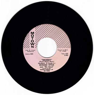 Richard Wylie and his Band - Money ( That's What I Want ) / I'll Still Be Around - Motown M-1009