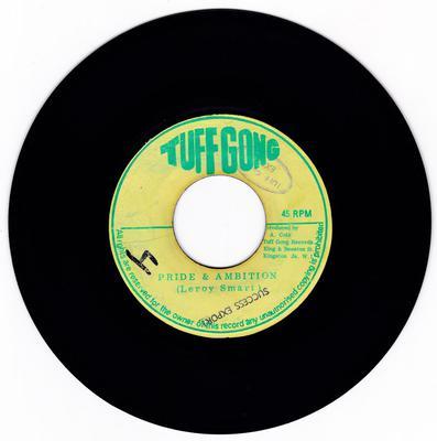 Leroy Smart - Pride & Ambition / version - Tuff Gong 10012