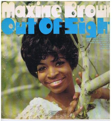 Maxine Brown - Out Of Sight / 1968 Stereo press - EPC BN 26395