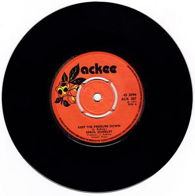 Errol Dunkley - Keep The Pressure Down / Pressure Down - Ackee ACK 507