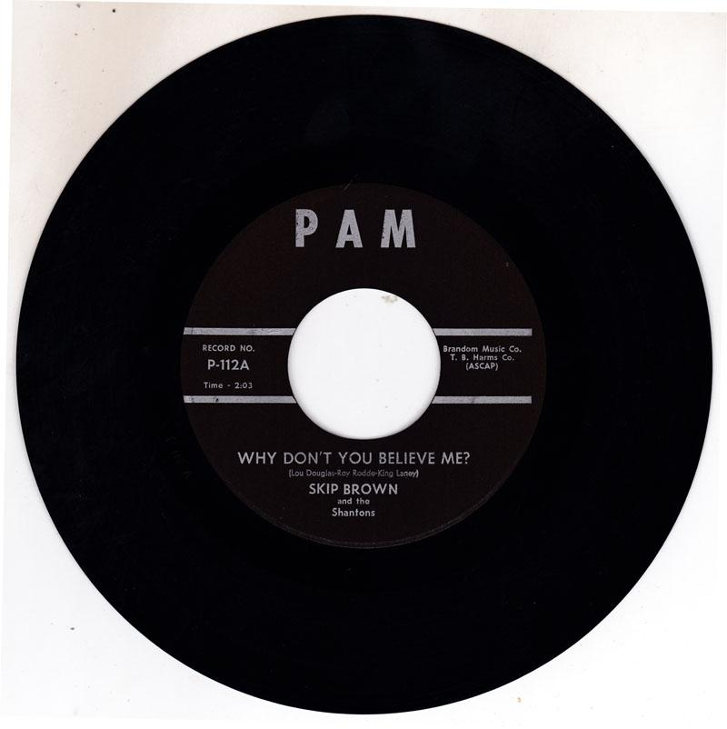 Why Don't You Believe Me/ Jenny Lee