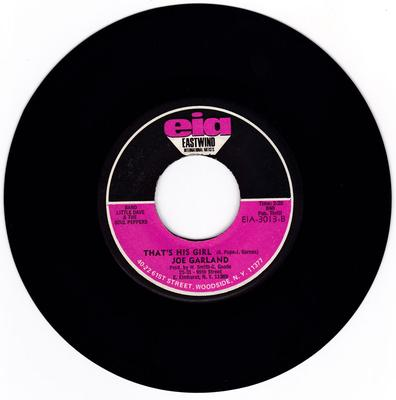 Joe Garland - That's His Girl / Sound Of Love - Eastwind International Arists EIA 3013