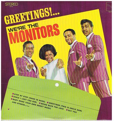 Monitors - Greetings! ...We're The Monitors / 1969 Canadian press - Tamla Motown SS 714