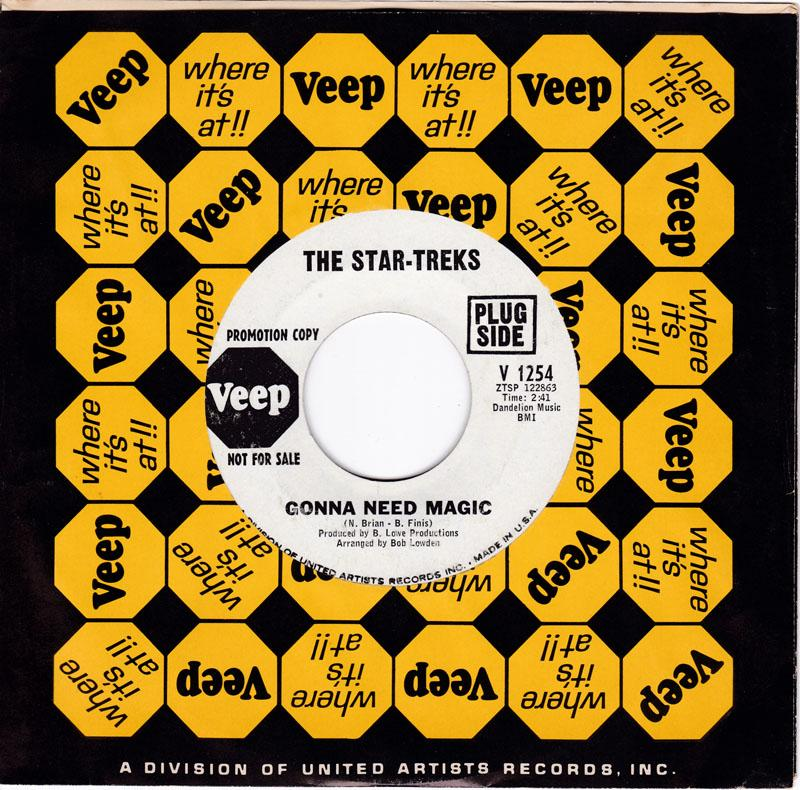 Star-Treks - Gonna Need Magic / Dreamin' - Veep V 1254 DJ