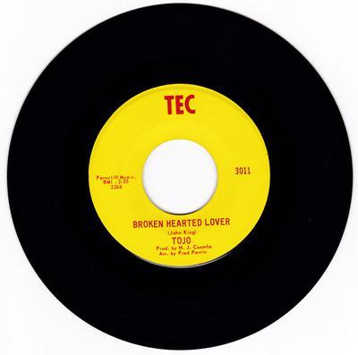 Tojo - Broken Hearted Lover / Blue Lover - Tec 3011