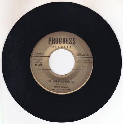 Cookie Jackson - Do You still Love Me / Blind Love - Progress 912