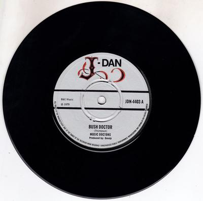 Music Doctors - Bush Doctor / Lick Your Stick - J-Dan JND 4403