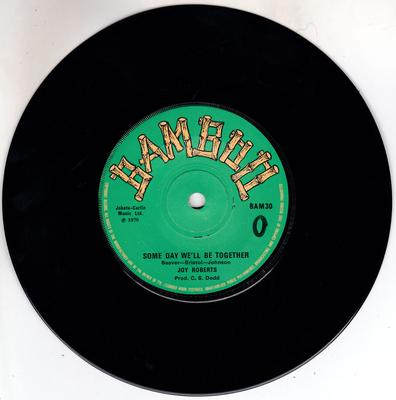 Joy Roberts / Sound Dimention - Some Day We'll Be Together / Everyday People - Bamboo BAM30