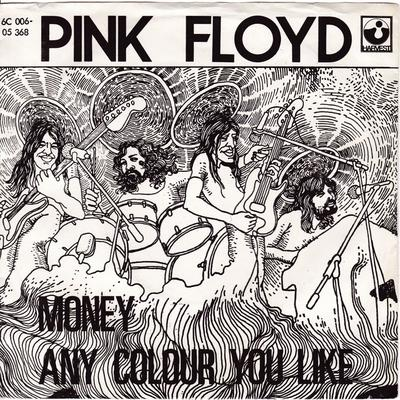 Pink Floyd - Money / Any Colour You Like - Harvest 6C 006-05 368