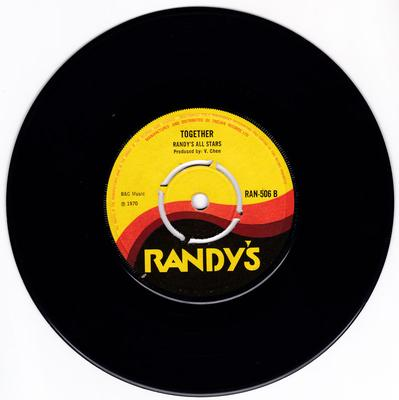 Randy's All Star's - Together / Blue Danube Waltz - Randy's RAN 506