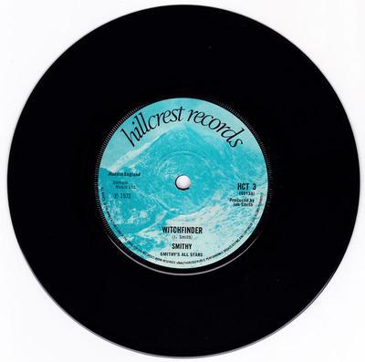 Smithy - Witchfinder / Deserted - Hillcrest Records HCT 3