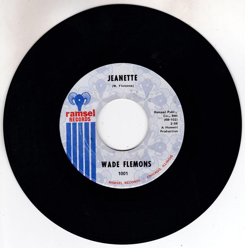 Wade Flemons - Jeanette / What A Price To Pay - Ramsel 1001