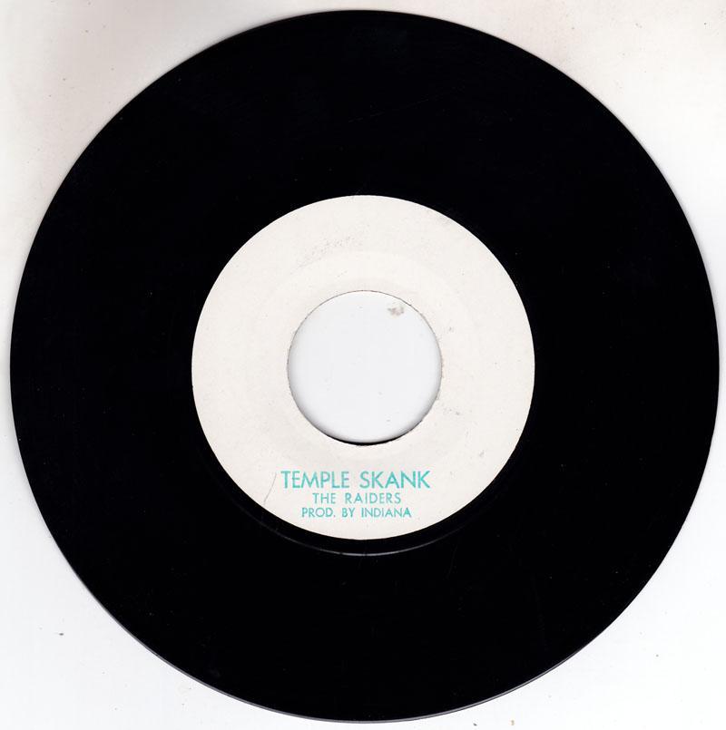 Raiders - Temple Skank /  unititled - SRT 165