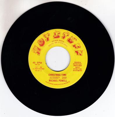 Michael Powell - Christmas Time Scopbey-Doo / Christmas dub - Hot Stuff HS-001