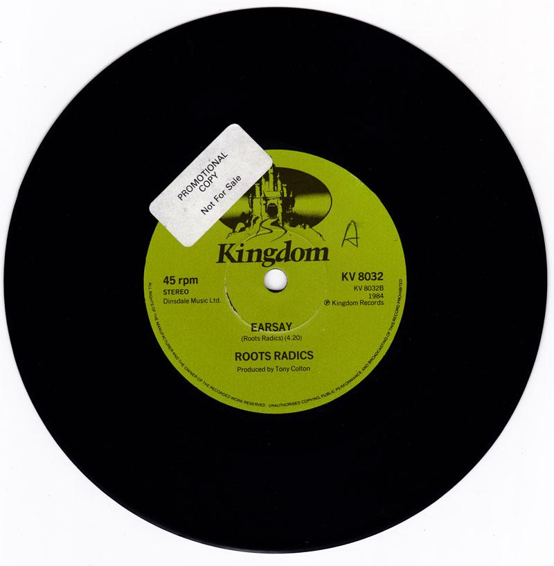 Earsay/ I'm Not A King