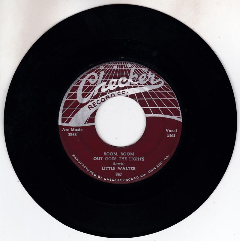 Little Walter - Boom Boom Out Goes The Lights / Temperature - Checker 867