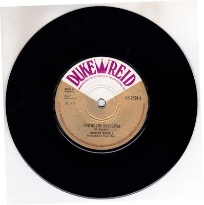 Dorothy Russell - You're The One I Love / version - Duke Reid DR 2524