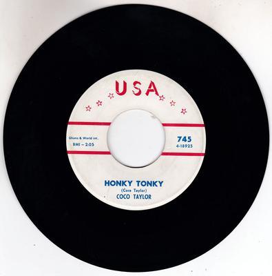 Coco Taylor - Honky Tonky / Like Heaven To Me - U S A 745