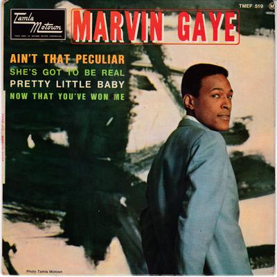 Marvin Gaye - Ain't That Peculiar / 1965 4 track French EP wth cover - Tamla Motown TMEF 519 EP PS
