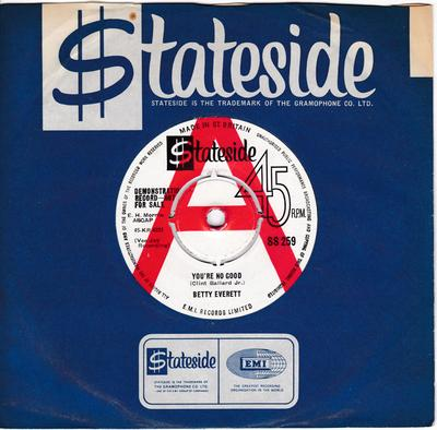 Betty Everett - You're No Good / Chained To Your Love - Stateside SS 259 DJ